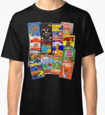 80s Totally Radical Breakfast Cereal Spectacular!!! Classic T-Shirt