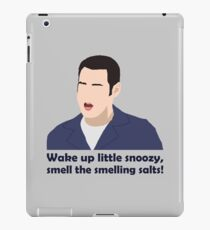 Wake up little snoozy, smell the smelling salts! iPad Case/Skin