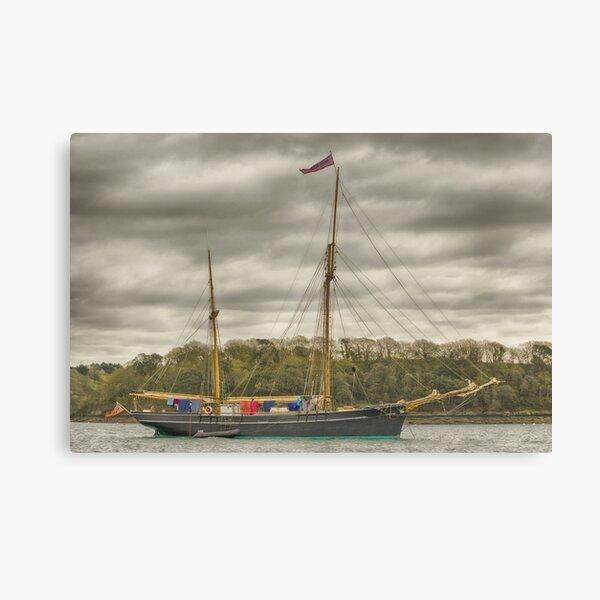 Tall Ship Bessie Ellen Canvas Print