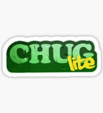 Chug Lite Sticker