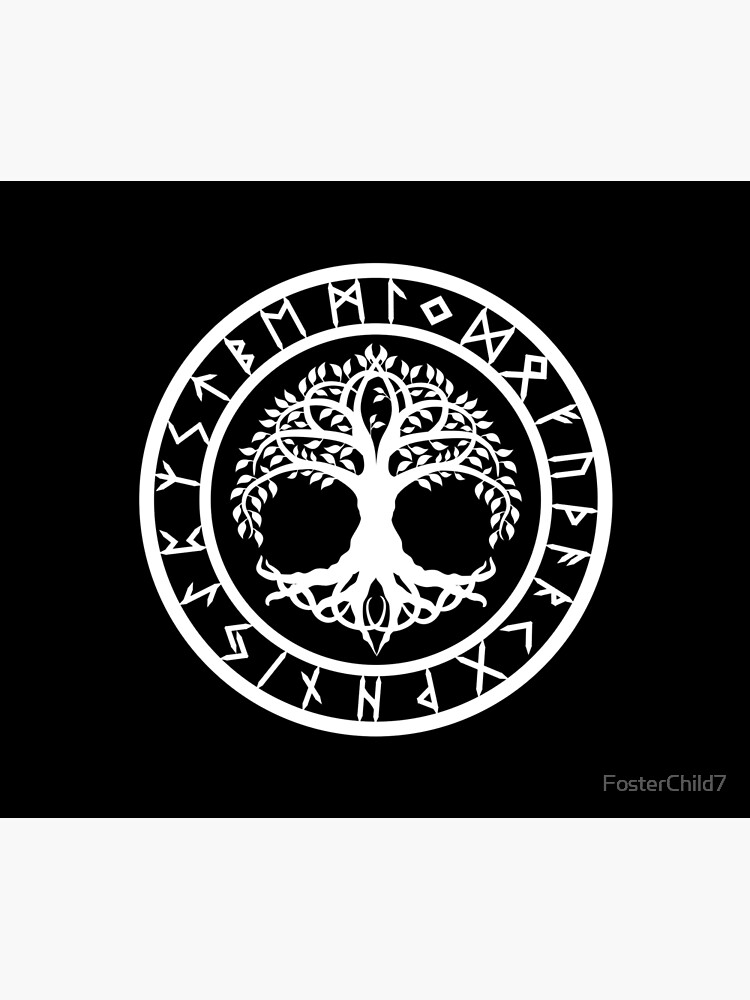 Yggdrasil | Rune Circle (Variant II) by FosterChild7
