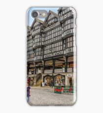 Shopping in Chester, England iPhone Case/Skin
