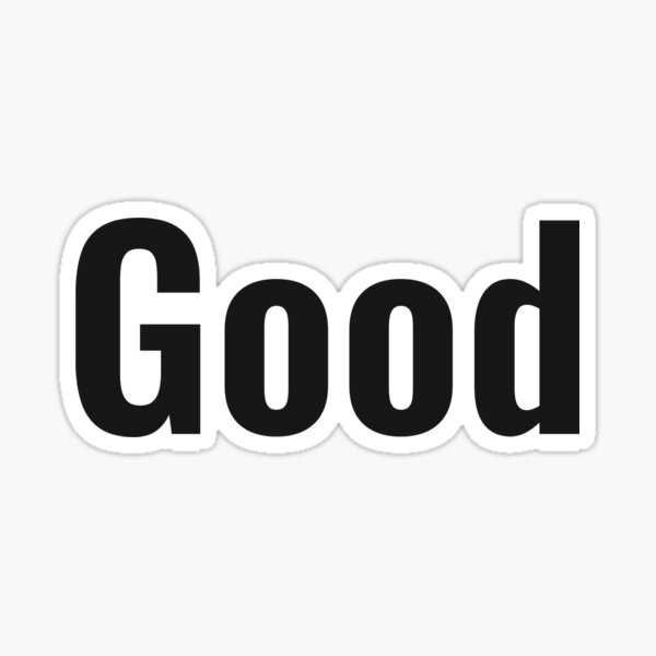 Jocko Willink Good Sticker