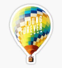 Pegatina BTS Young Forever Balloon