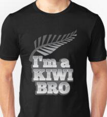 I'm a KIWI Bro New Zealand with silver fern T-Shirt