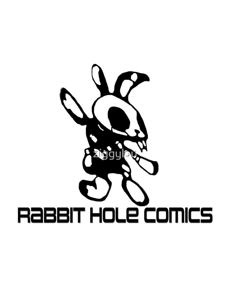 Rabbit Hole Comics  by ziggylou