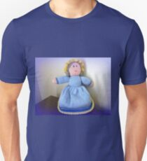 Hand Made knitted Doll  T-Shirt