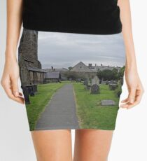 A Walk by St Mary's Church, Conwy Mini Skirt