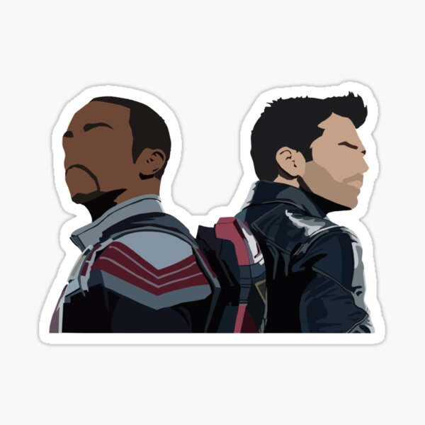 The Falcon and the Winter Soldier Sticker