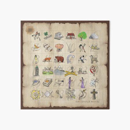 Lenormand Game of Hope Art Board Print