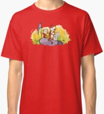 Calvin & Hobbes : Imagination Rules Classic T-Shirt