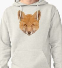 Red Fox  Pullover Hoodie