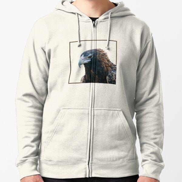 Wedge-tailed Eagle Zipped Hoodie