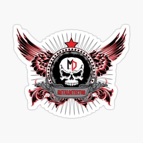 Metaldetector Wings Classic Sticker