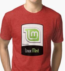 Linux MINT ! [HD] Tri-blend T-Shirt