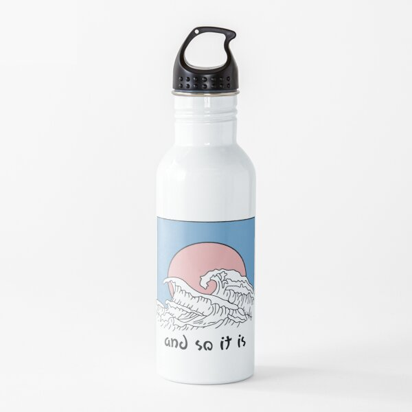 And So It Is Wave Water Bottle