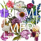 Floral and summer Graphic Design by OlgaBerlet