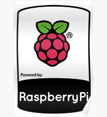Powered by Raspberry ! Poster