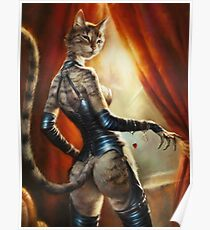 The Royal Cats' Girlfriend Feline Poster