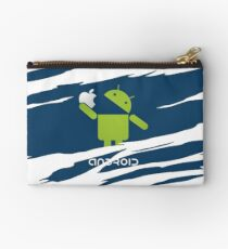 ANDROID EATS APPLE ! Studio Pouch