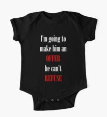 Godfather Movie Quote Kids Clothes