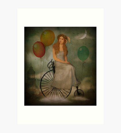 Der Radtour ... Kunstdruck