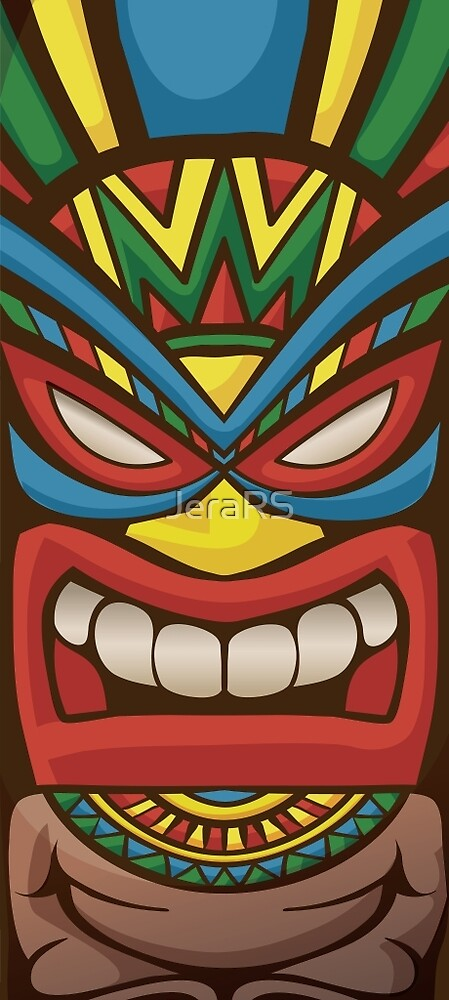 Tiki Warrior Mask by Jera RS