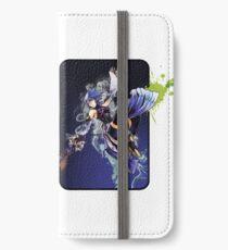 Aqua Sploosh iPhone Wallet/Case/Skin
