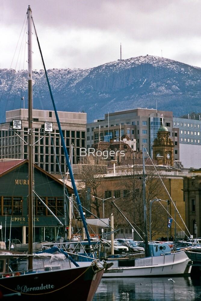 Victoria Dock, Hobart—Kodachrome 64 by BRogers