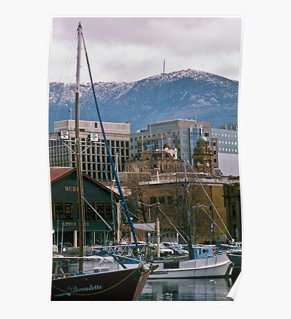 Victoria Dock, Hobart—Kodachrome 64 Poster