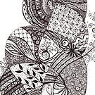 Wild tangle by Vickie Simons
