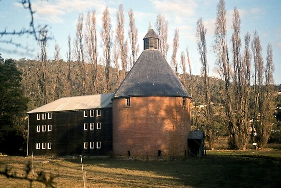 Oast House, New Norfolk, Tasmania—KODACHROME 64 by BRogers