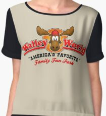 WALLEY WORLD - NATIONAL LAMPOONS VACATION (1) Women's Chiffon Top