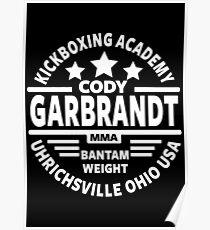 Cody Garbrandt Poster