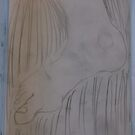 Imaginary foot drawing -(241015)- Pencil sketch by paulramnora