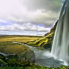 Seljalandsfoss in Iceland 2 by Caleb Ward