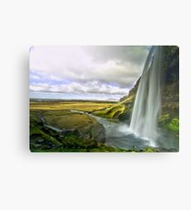 Seljalandsfoss in Iceland 2 Metal Print