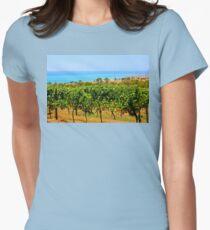 Bellarine vineyards Womens Fitted T-Shirt