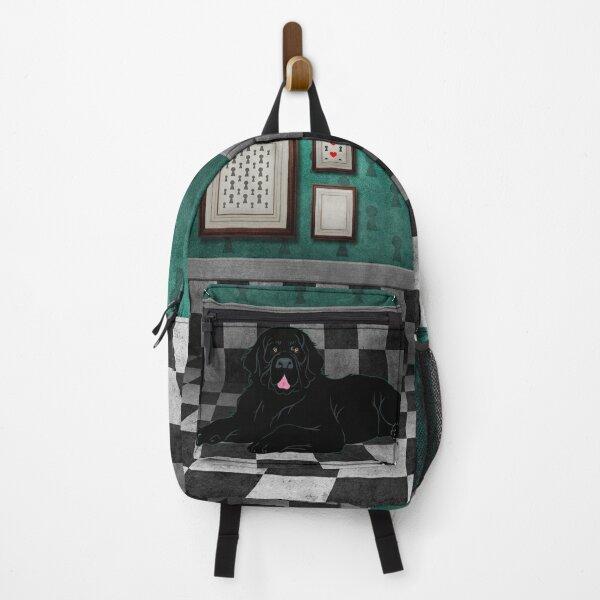 Newfoundland Dog Chillin' Backpack