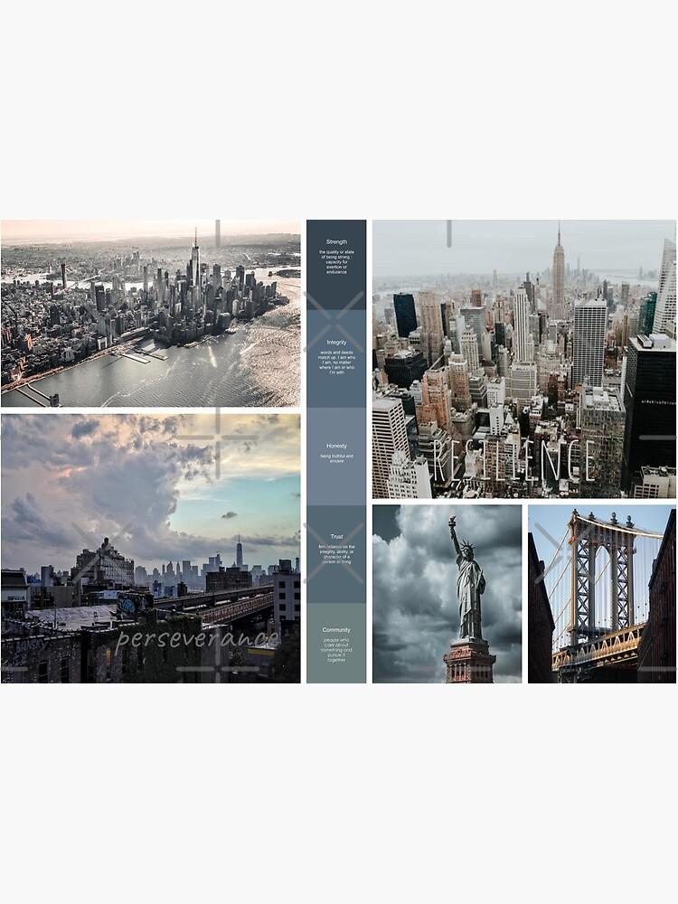 New York Skyline Soul Snapshot by jodypeardesigns