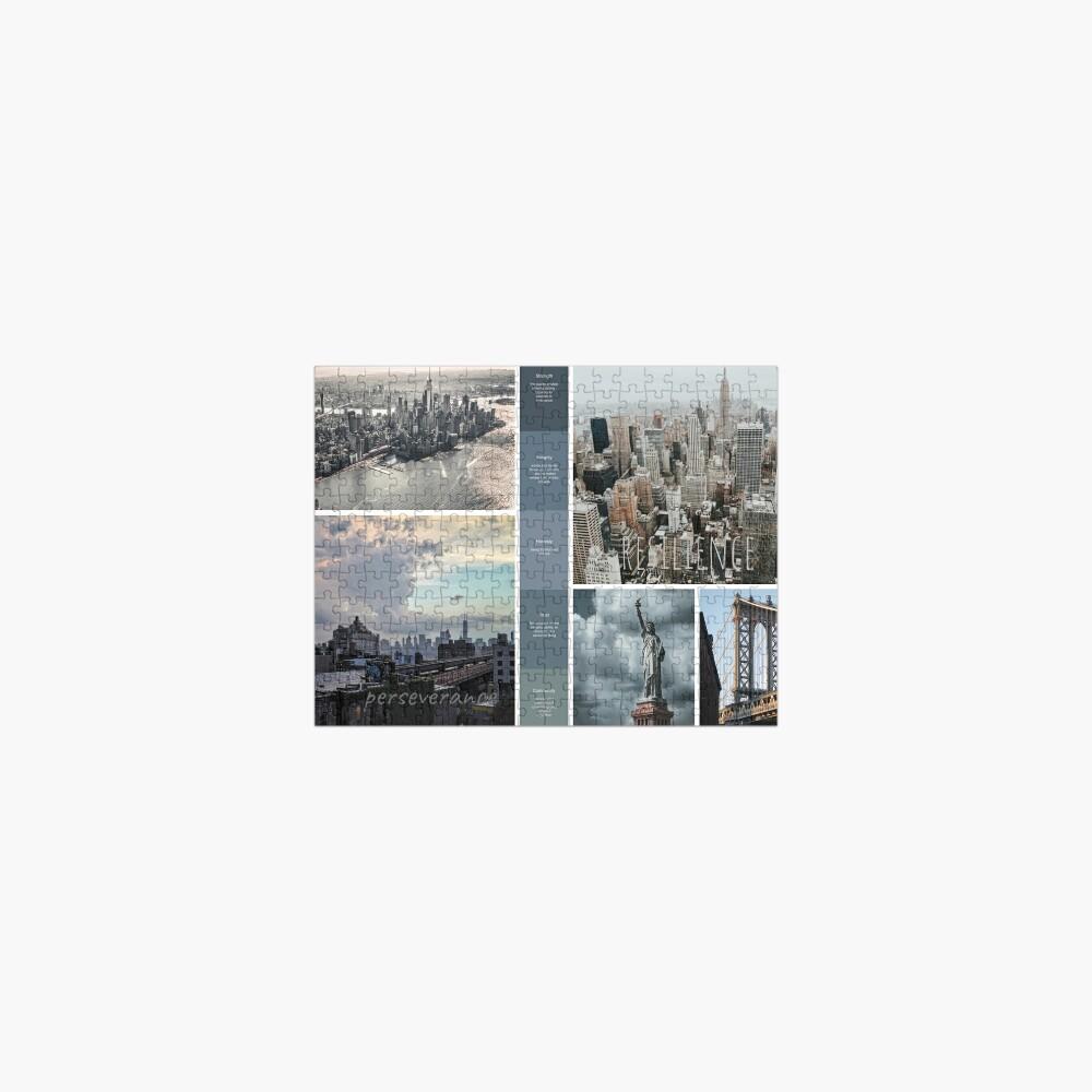 New York Skyline Soul Snapshot Jigsaw Puzzle