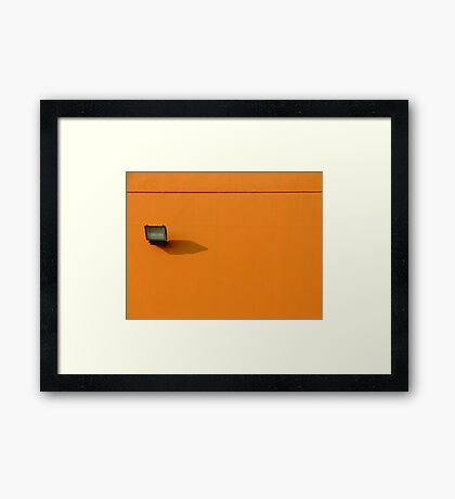 Post man Framed Print