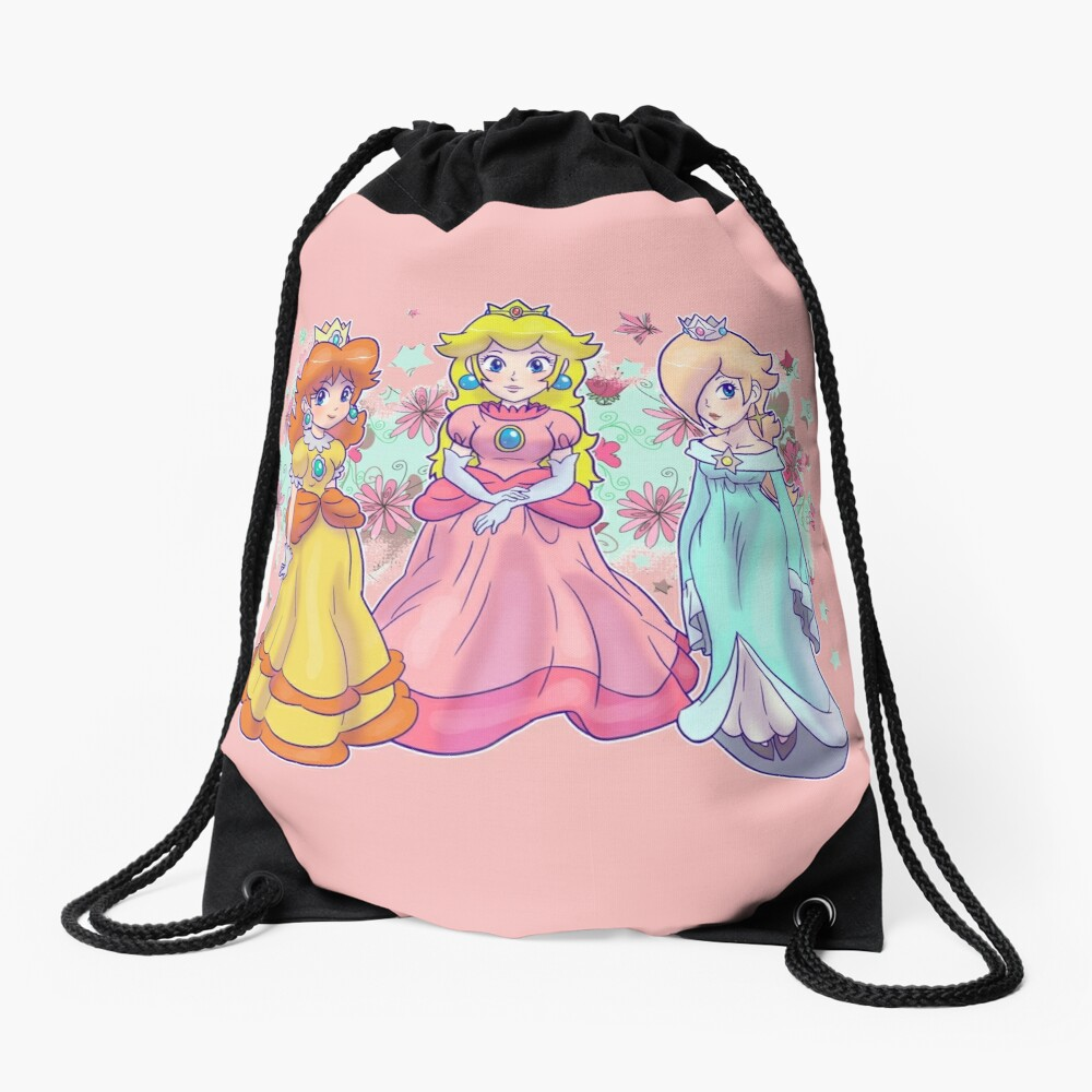 Prinzessin Peach, Daisy und Rosalina Rucksackbeutel
