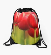 Beauty in Red Drawstring Bag