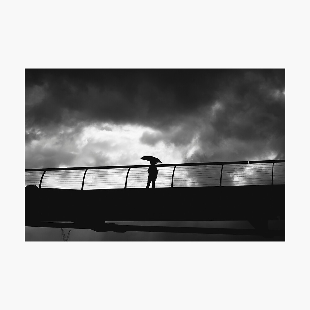 MILLENIUM BRIDGE, LONDON - 2013 Photographic Print