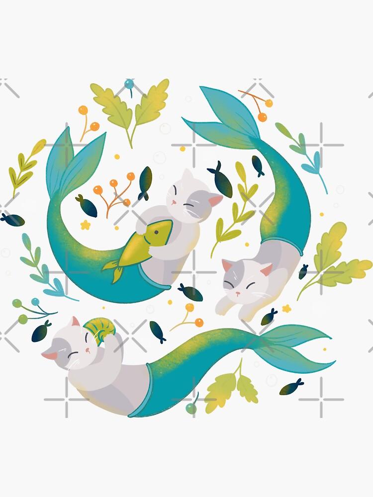 Merkitties - pattern version by Elenanaylor