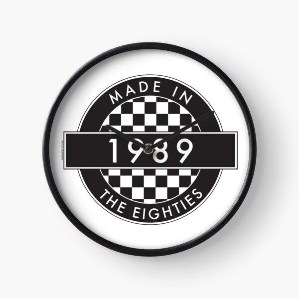 1989: MADE IN THE EIGHTIES Clock