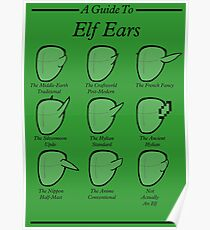 An Auricular Guide to the Elven Peoples Poster
