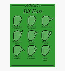 An Auricular Guide to the Elven Peoples Photographic Print