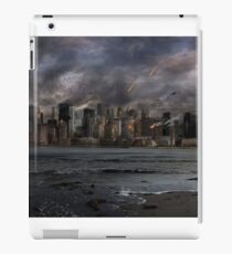 Destruction in the city iPad Case/Skin